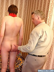 Sinful twinks get spanked properly
